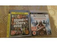 PS3 Games x 2