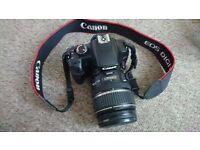 Canon 450d + EFS 17-85 lens + Velbon Sherpa 600R tripod