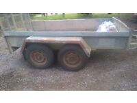 Indepension plant trailer 2.7ton