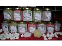 soy wax candles and wax melts for sale