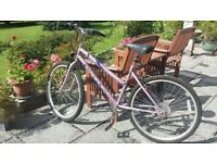 ladies ,Exodus Genie , 6 gear mountain bicycle .