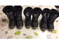 Kid's ski boots. Assorted sizes. Hi Tech brand