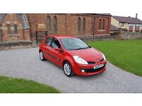09 REG RENAULT CLIO 1.5 DCI DYNAMIQUE RED 5DR FSH 2-KEYS MOT-18 OUTSTANDING FREE-DELIVERY CHEAP CAR