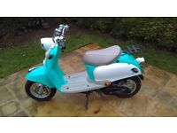 Baotian 49cc Retro Moped