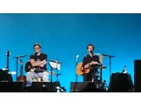 Friday 22 Flight of the Conchords 2 tickets stage floor B2 @O2 London