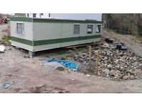 Off site static caravan/mobile home. Suit self builders / accommodation or site office