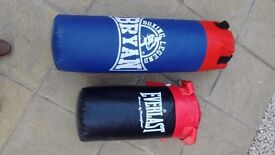 Punch Bags one large one small both as New