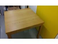cheap extending wooden table
