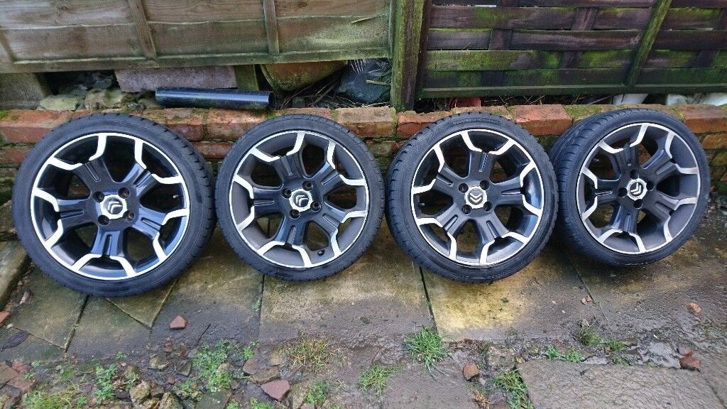 """Citroen DS3 17"""" Bellone Alloy Wheels x4"""