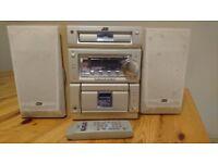Micro CD Hi-Fi, JVC UX-PSR, +10 years old
