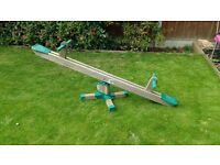 Used childrens wooden see saw good condition
