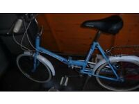 Universal folding bike *vintage 20 inch wheels*