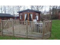 Lodge with Hot Tub at Devon Hills 5 Star Holiday Village £32,000 O.N.O