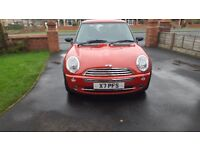 MINI ONE 1.6 CVT ONLY 1200 MAGICAL MILES !! 1 PREVIOUS OWNER & FULL BMW SERVICE HISTORY