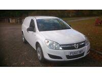 2010 Vauxhall Astra 1.3 CDTI Van with crew seats