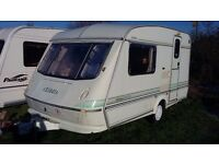elddis whirlwind XL 1000 lighweight 2 berth