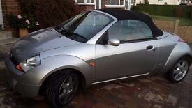 Great condition ford streetka + red leather interior