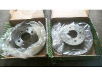X2 honda front brake discs BD434V