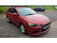 mitsubishi lancer gs2 di d turbo diesel 2011 60 plate