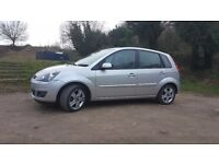 FORD FIESTA ZETEC CLIMATE 1.4 GREAT CONDITION 5 DOORS SILVER