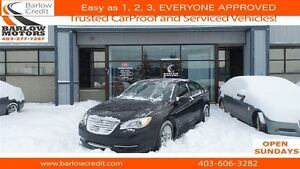 2013 Chrysler 200 LX*EVERYONE APPROVED*APPLY NOW DRIVE NOW!