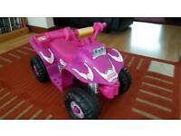 Little girls electric quad