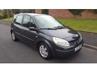 RENAULT SCENIC 1 YEAR MOT FOR SALE