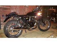 Sinnis Cafe Racer 125 Motorcycle Motorbike