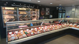 Full Time Apprentice Butcher Day time hour's 44 hours per week 7.50/hr