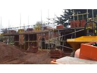bricklayer contractor looking for work, bricklayer,brickwork,blockwork