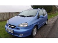 2008 chevrolet TACUMA 43k from new great family car in great condition