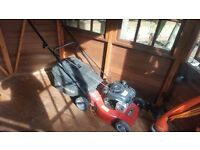 Petrol self propelled lawn mover 1 year old, works like new
