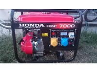Hardly used generator for sale