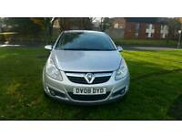 Vauxhall corsa design 2008 automatic low mileage hpi clear excellent drive