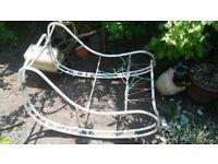 Garden Rocking Chair Frame