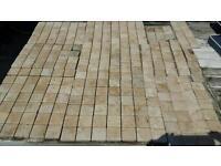Bathroom wall tiles natural travertine 290 No 5x5cms each