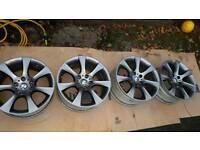 Bmw 18 bbs Alloys +4 new tyres
