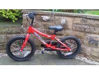 Child's bike 16 inch wheels in excellent condition