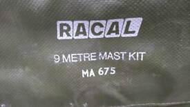 Racal 9 meter fibre glass antenna