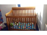 american cot/cotbed/single bed/double bed