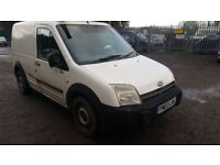 TRANSIT CONNECT T200. 75hp. 9 MONTHS MOT. 157000. no offers. 2003. read AdVeRt carefully