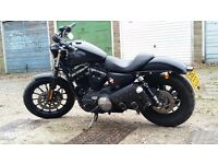 Harley Davidson 883 Sportster Iron 2014 model with ABS