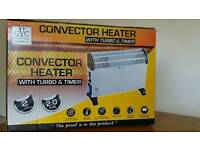 Convector heater 2000W