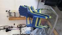 4 plastic Muskoka chairs