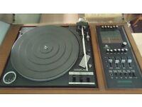 Vintage turntable dynatron