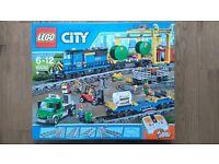 lego city cargo train 60052 BNIB