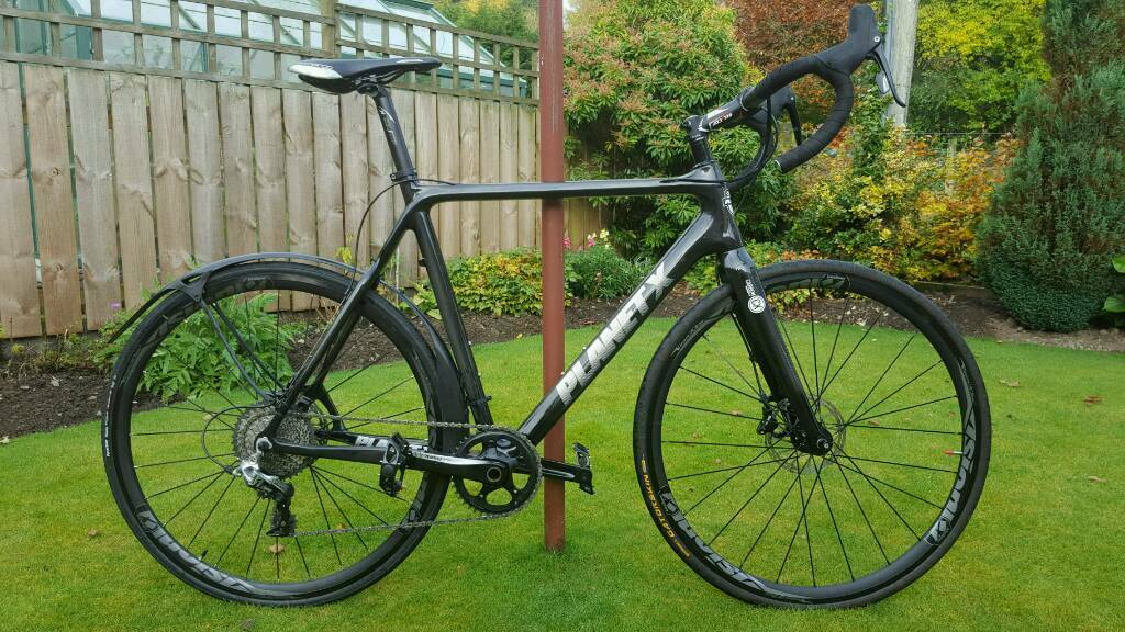 2016 PLANET X XLS RIVAL 1 CYCLOCROSS CARBON BIKE SIZE XL NEARLY NEW ...