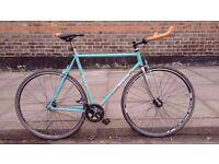 Bertin Singlespeed/Fixie bike Columbus steel Frame