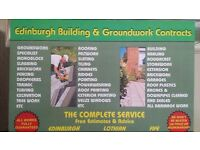 EDINBURGH BUILDING & GROUNDWORK CONTRACTS.