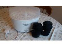 Tommee Tippee steriliser and two travel thermal bottle warmers